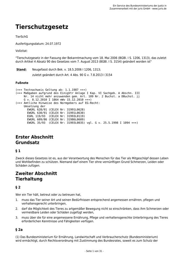 Das neue TierSchG - v.7.8.2013_01 - kl.