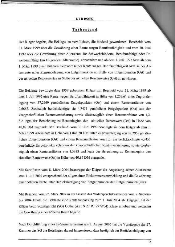 Urteil des LSG vom 25.01.2011 - Harald - Ost-West-Rente_Seite_02 - kl.