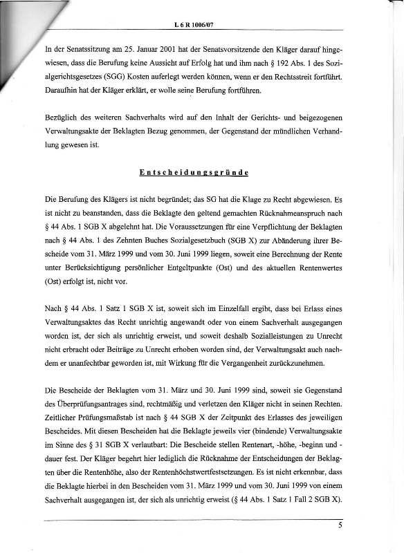 Urteil des LSG vom 25.01.2011 - Harald - Ost-West-Rente_Seite_05 - kl.