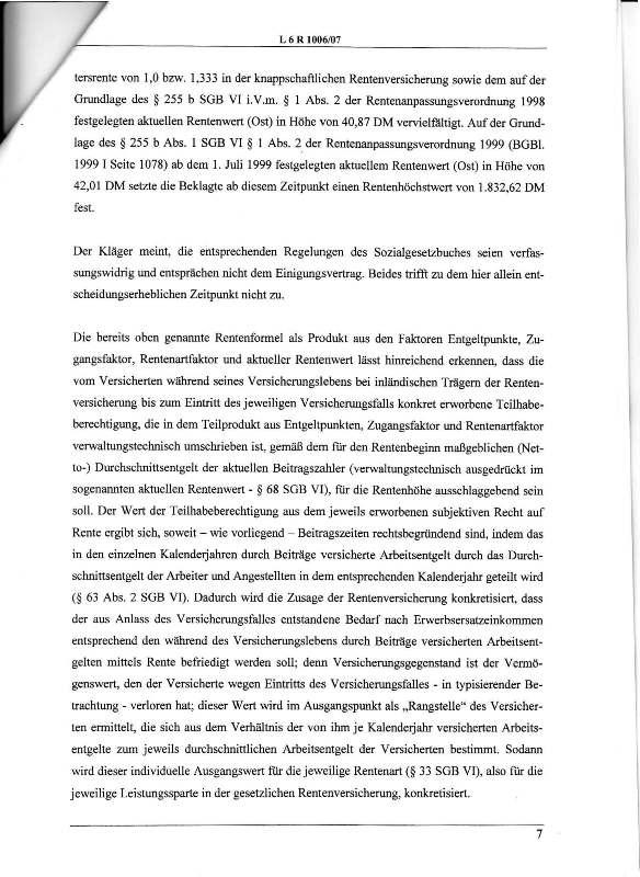 Urteil des LSG vom 25.01.2011 - Harald - Ost-West-Rente_Seite_07 - kl.