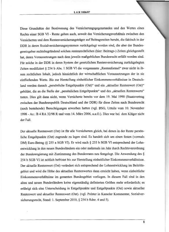 Urteil des LSG vom 25.01.2011 - Harald - Ost-West-Rente_Seite_08 - kl.