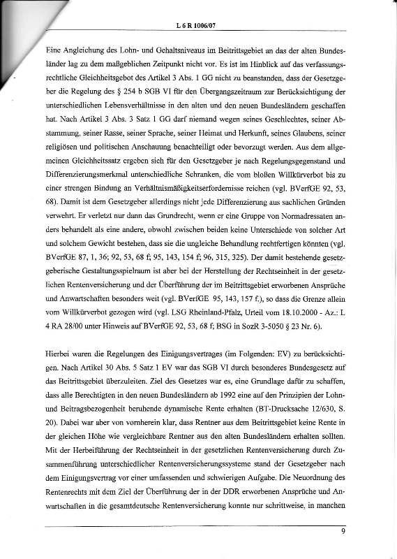 Urteil des LSG vom 25.01.2011 - Harald - Ost-West-Rente_Seite_09 - kl.