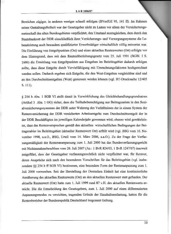 Urteil des LSG vom 25.01.2011 - Harald - Ost-West-Rente_Seite_10 - kl.