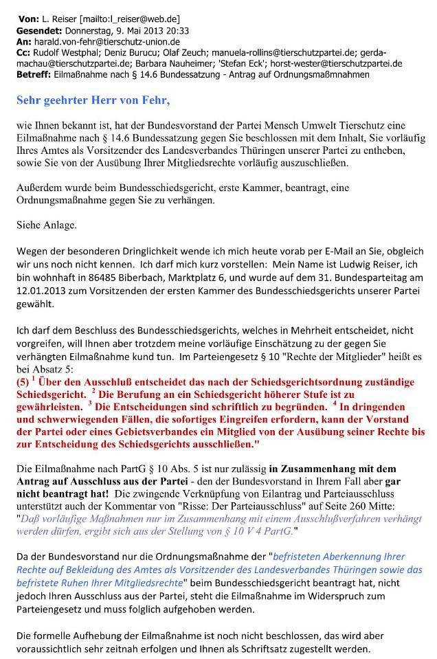 meine Mail v. 11.05.2013 an Bundesschiedsgericht - S. 2 - kl.