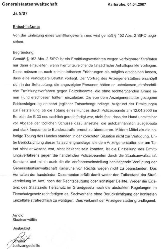 Schreiben der Generalstaatsanwsch. Karlsruhe vom 04.04.07_02 - kl.