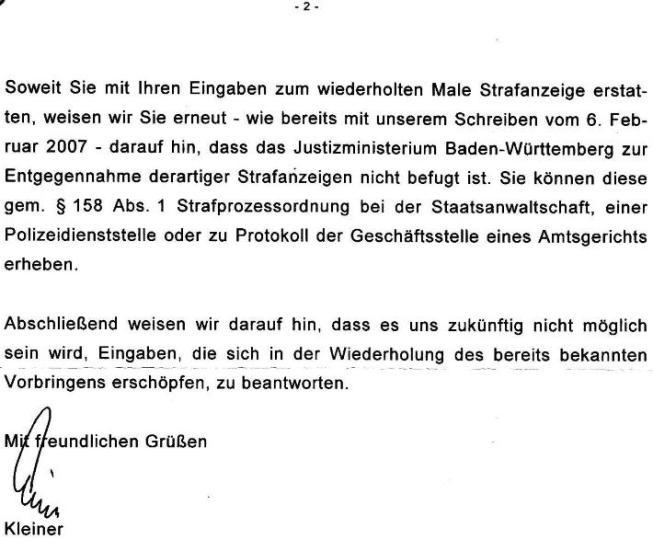 Schreiben des Justizministeriums von B-W vom 04.05.2007_02 - kl.