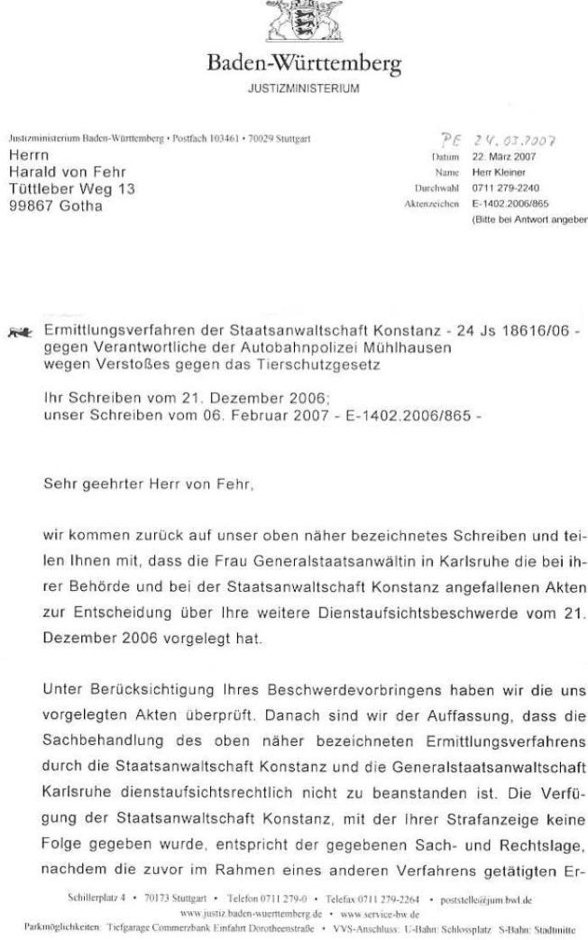 Schreiben des Justizministeriums von B-W vom 22.03.07_01 - kl.