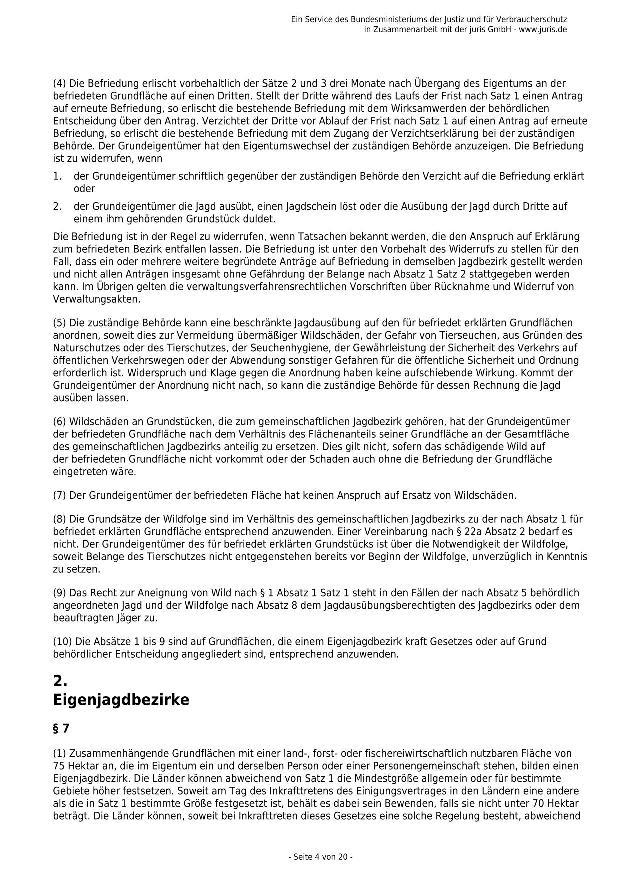 Bundesjagdgesetz v. 29.05.2013_04 - kl.