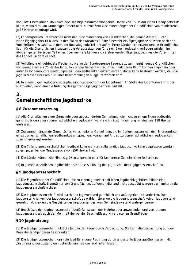 Bundesjagdgesetz v. 29.05.2013_05 - kl.