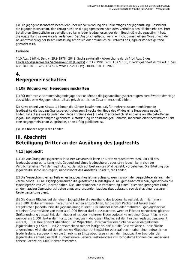Bundesjagdgesetz v. 29.05.2013_06 - kl.