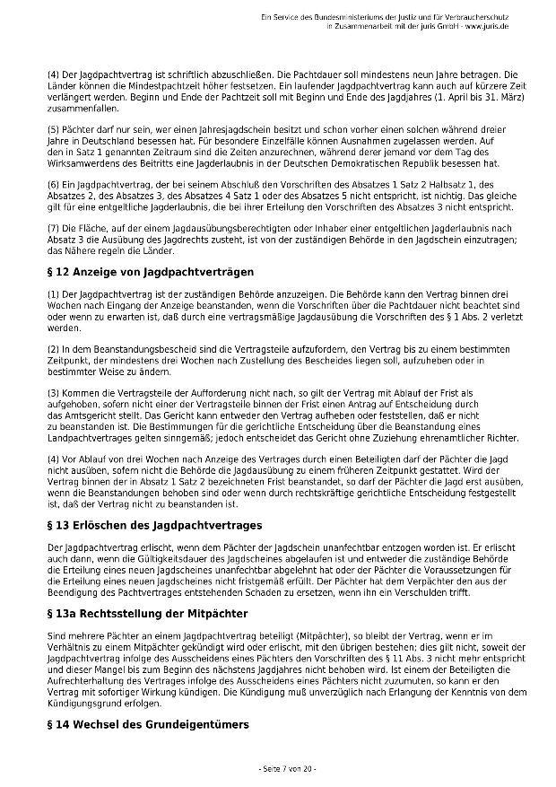 Bundesjagdgesetz v. 29.05.2013_07 - kl.