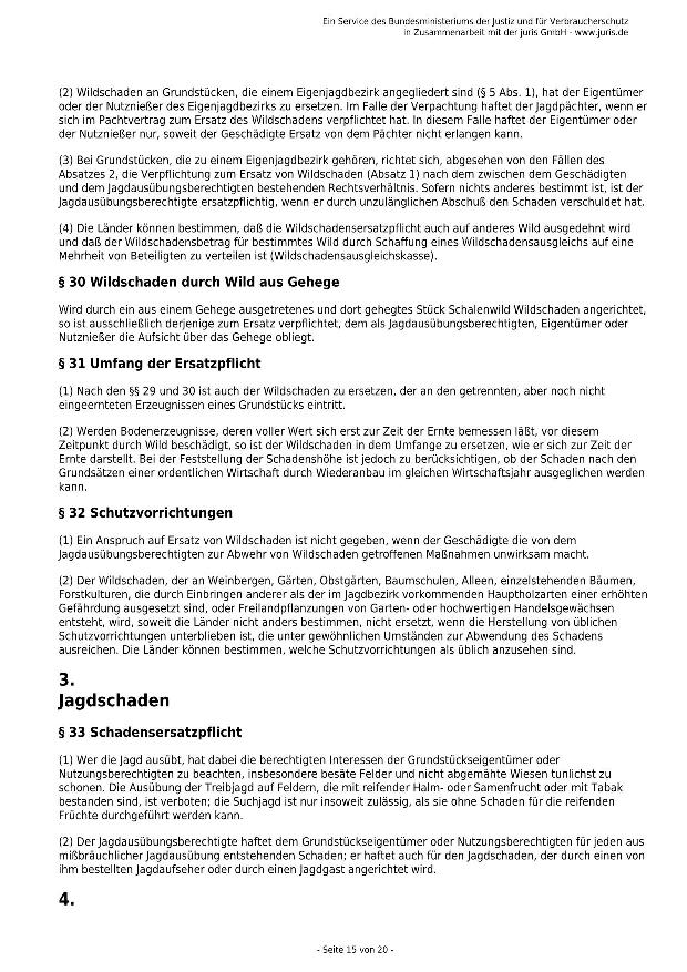 Bundesjagdgesetz v. 29.05.2013_15 - kl.