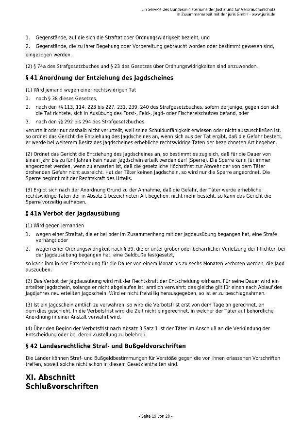 Bundesjagdgesetz v. 29.05.2013_19 - kl.