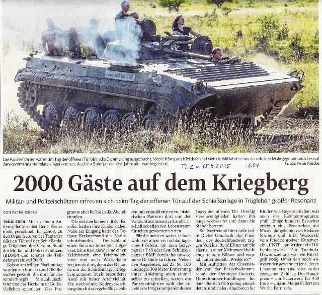 2000 Gäste auf dem Kriegberg - TLZ v. 15.9.2015-001 - klein