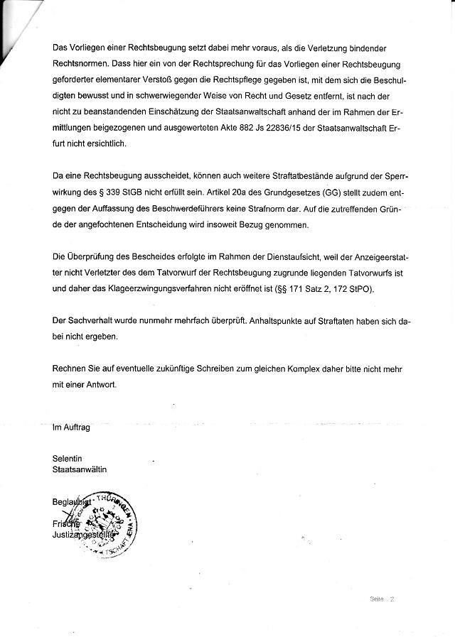 Beschwerdeabweisung d. GStA Jena v. 7.4.2016-002 - kl.