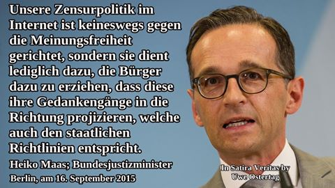 b1 - Justizminister Maas