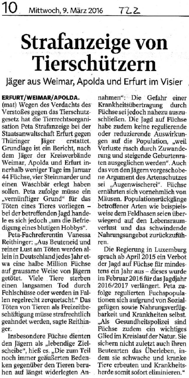 Strafanzeige von Tierschützern - TLZ v. 9.3.2016.jpg - bearb.
