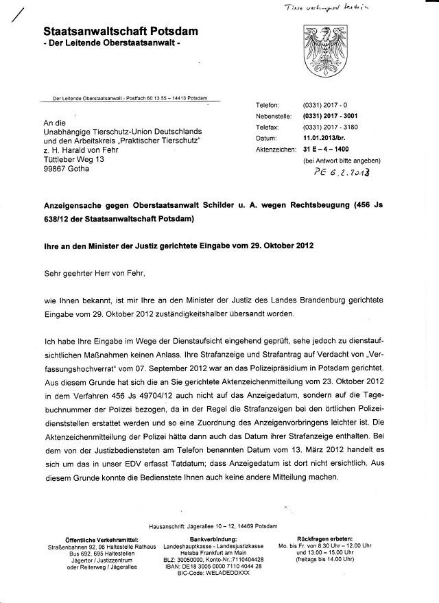Schreiben d. StA Potsdam v. 11.01.2013_01.jpg - kl.